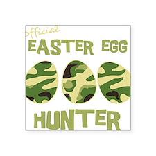 "hunter_dark Square Sticker 3"" x 3"""