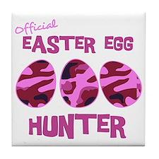 hunter_dark_girl Tile Coaster
