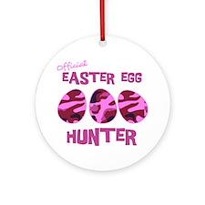 hunter_dark_girl Round Ornament