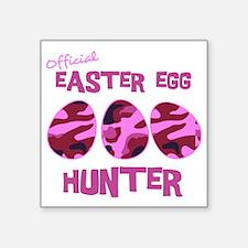 "hunter_dark_girl Square Sticker 3"" x 3"""
