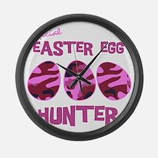 hunter_dark_girl Large Wall Clock