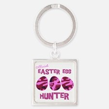 hunter_dark_girl Square Keychain