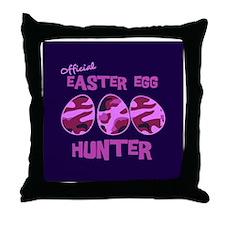 hunter_icon_girl Throw Pillow