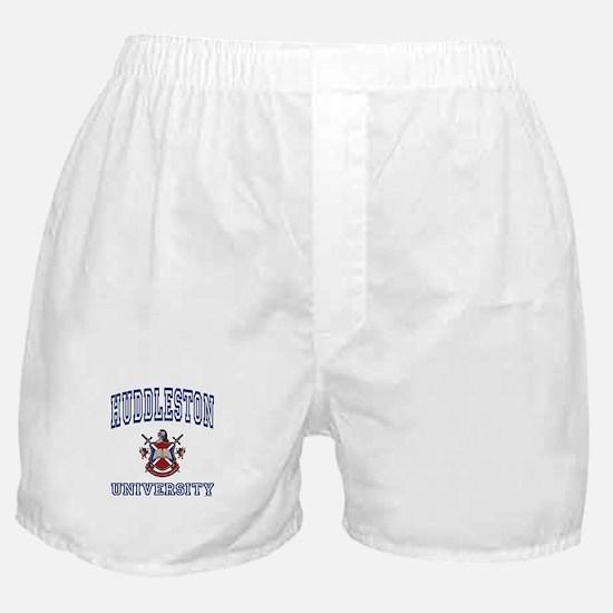 HUDDLESTON University Boxer Shorts