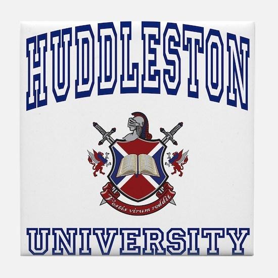 HUDDLESTON University Tile Coaster