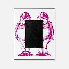 Tweedle Dee and Tweedle Dum Pink Picture Frame