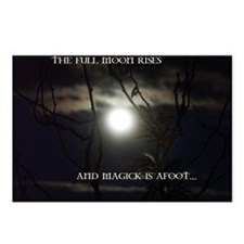 Full Moon Card Postcards (Package of 8)