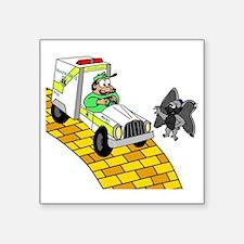 """ems Square Sticker 3"""" x 3"""""""