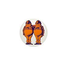 Tweedle Dee and Tweedle Dum Purple Ora Mini Button