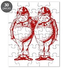 Tweedle Dee and Tweedle Dum Red Puzzle