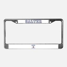 SALTER University License Plate Frame