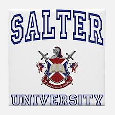 SALTER University Tile Coaster