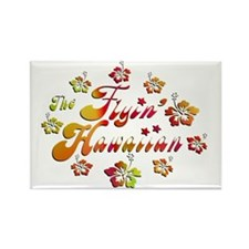 2010 FH Hibiscus Colors Rectangle Magnet