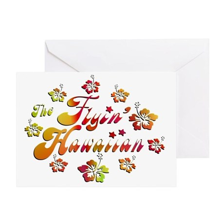 2010 FH Hibiscus Colors Greeting Card