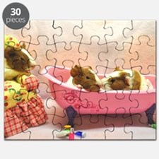 Baby Pigs Tubby Time Large Puzzle