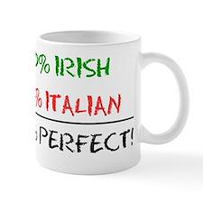 Half Irish Half Italian Baby Mug