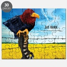 KU-Jay-Hawk Puzzle