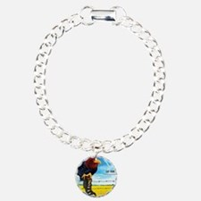 KU-Jay-Hawk Bracelet