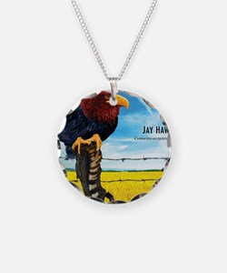 KU-Jay-Hawk Necklace