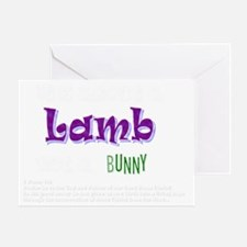 Its about a Lamb - Easter Greeting Card