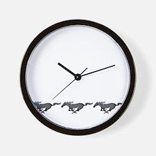 Mens mustang Wall Clock
