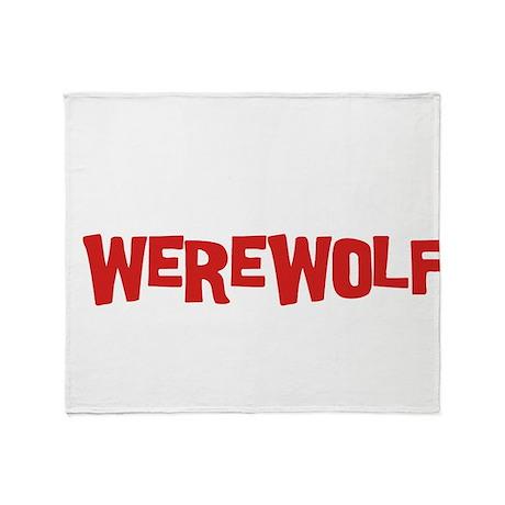 Team Werewolf Throw Blanket