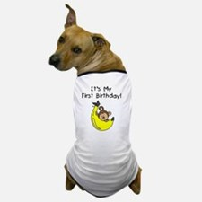 monkeyboyfirstbday Dog T-Shirt