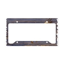 x14W  landing gear License Plate Holder