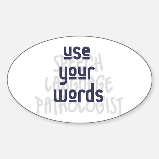 Use Your Words 2 Decal