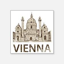 """vienna_bk Square Sticker 3"""" x 3"""""""