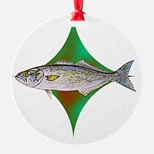 bluefishpocketlogo Ornament