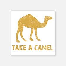 "Camel2 Square Sticker 3"" x 3"""