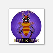 "BeesKneesNBG Square Sticker 3"" x 3"""