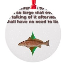 reddrumprayer Ornament