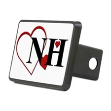 NH New Hampshire Heart Hitch Cover