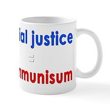 Social Justice Dark Mug