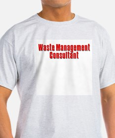 Waste Management Ash Grey T-Shirt