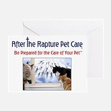ATRPC - cats at window Greeting Card