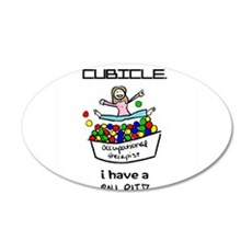 I Have a Ball Pit-- OT Wall Decal