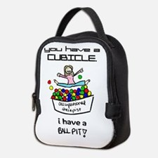 I Have a Ball Pit-- OT Neoprene Lunch Bag