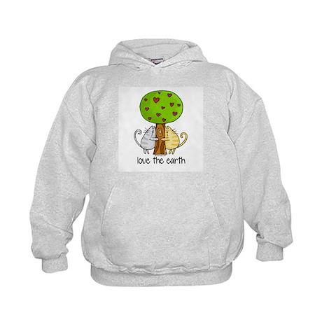 love the earth Kids Hoodie