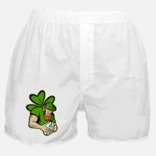Irish leprechaun rugby player celtic  Boxer Shorts