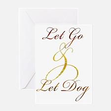 dog2 Greeting Card