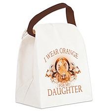 I Wear Orange for my Daughter (fl Canvas Lunch Bag