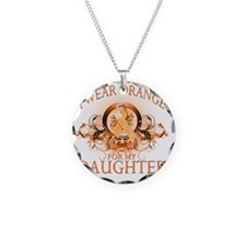 I Wear Orange for my Daughte Necklace