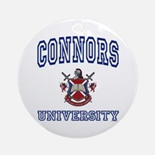CONNORS University Ornament (Round)