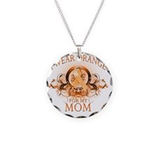 I Wear Orange for my Mom (fl Necklace