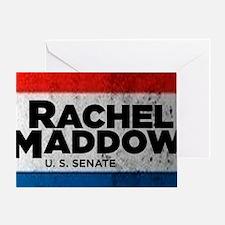 ART Shirt Rachel Maddow for Senate Greeting Card