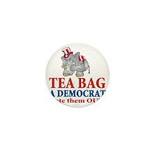 tea bag b Mini Button