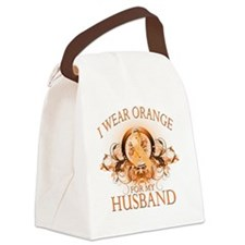 I Wear Orange for my Husband (flo Canvas Lunch Bag